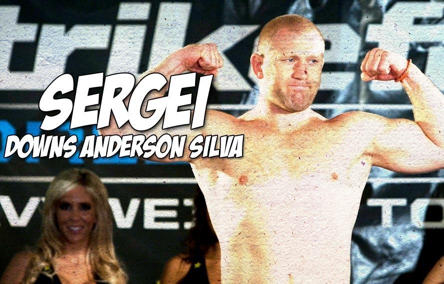 Sergei Kharitonov TKOd Anderson Silva today