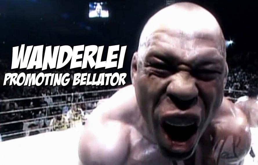 Wanderlei Silva Promoting Bellator 131 This Week