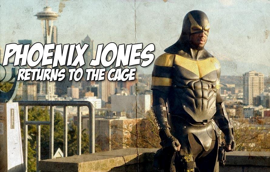 Seattle superhero turned MMA fighter Phoenix Jones returns