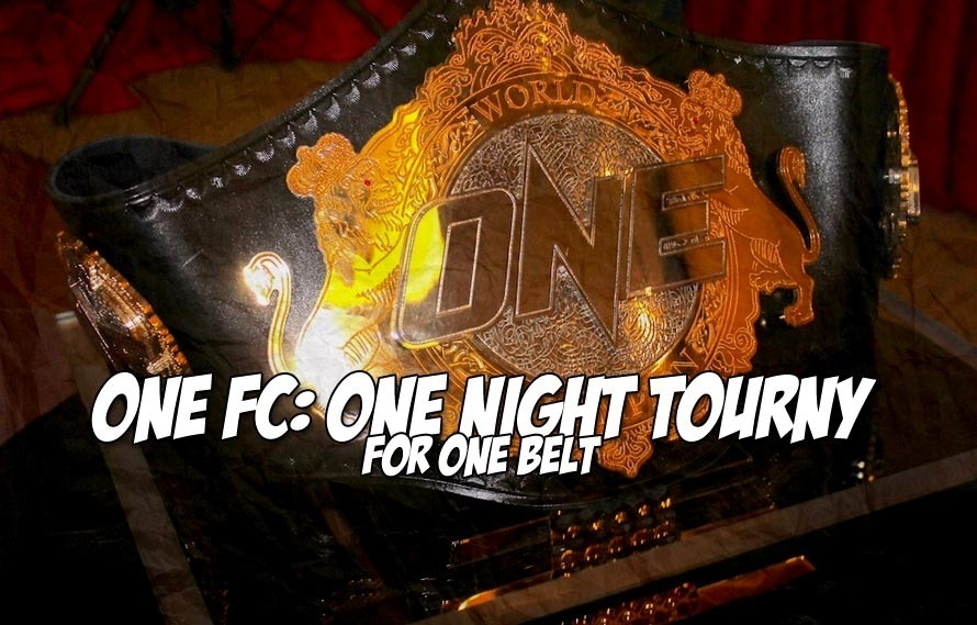 Taking the wait out of featherweight: ONE FC is hosting a four-man tourney on December 19th