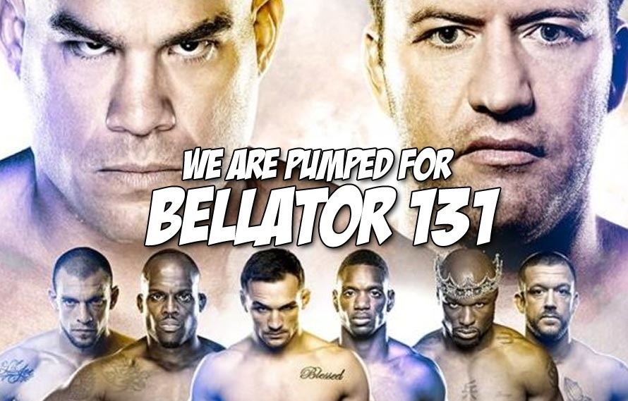 It's Hard Not to Be Pumped for Bellator This Saturday