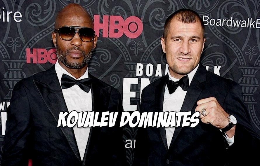 Sergey Kovalev dominated 49-year-old Bernard Hopkins. Is this the end?