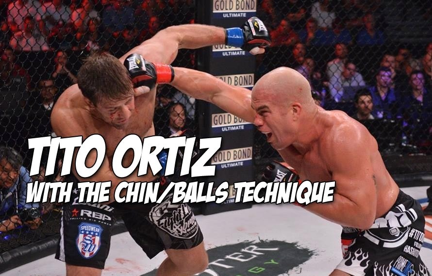 Tito Ortiz Perfected the Art of Punching Someone in the Face Then the Balls Last Night
