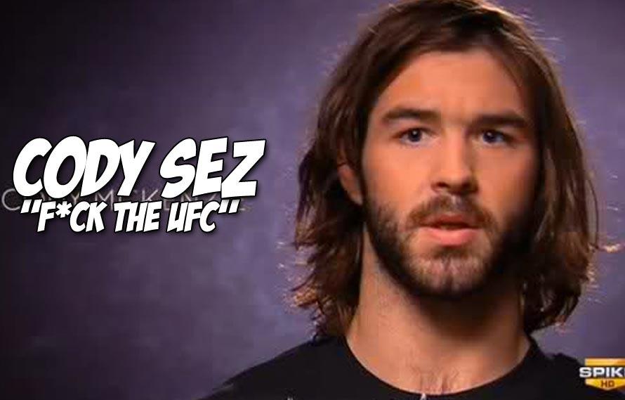 "Cody McKenzie on the UFC Lawsuit: ""F*ck the UFC."""