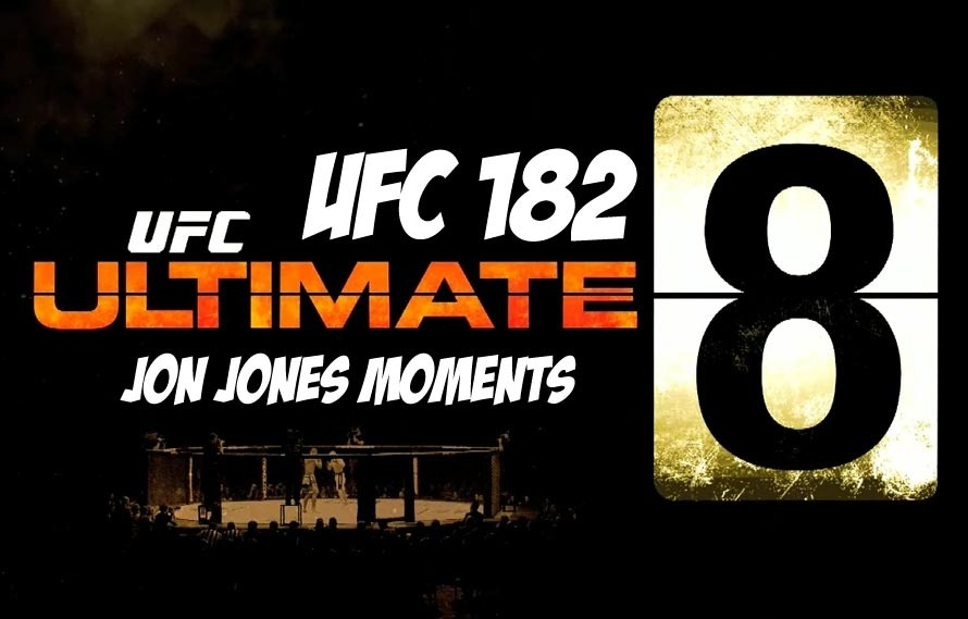 Count Down the 'Ultimate 8' Jon Jones Moments
