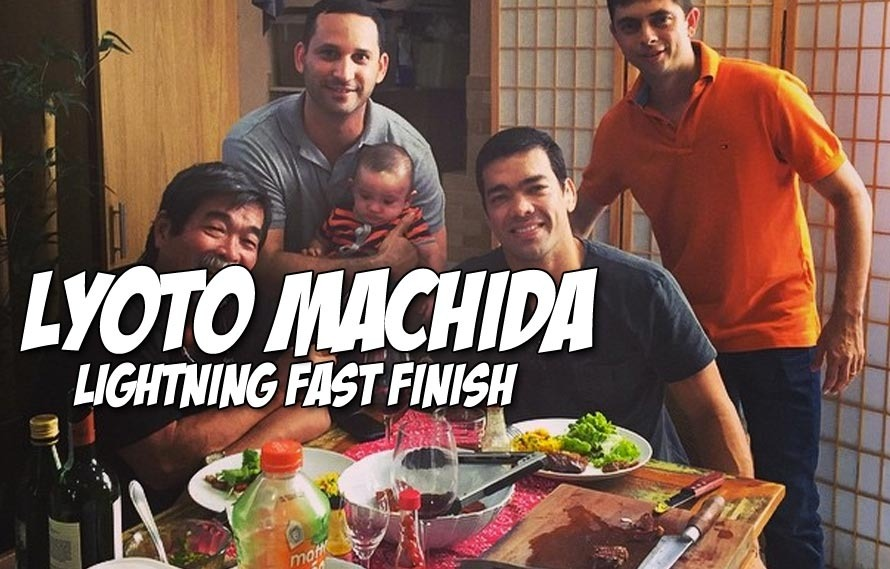 Re-Live Lyoto Machida's Dismantling of CB Dollaway to Round Out Your UFC Year