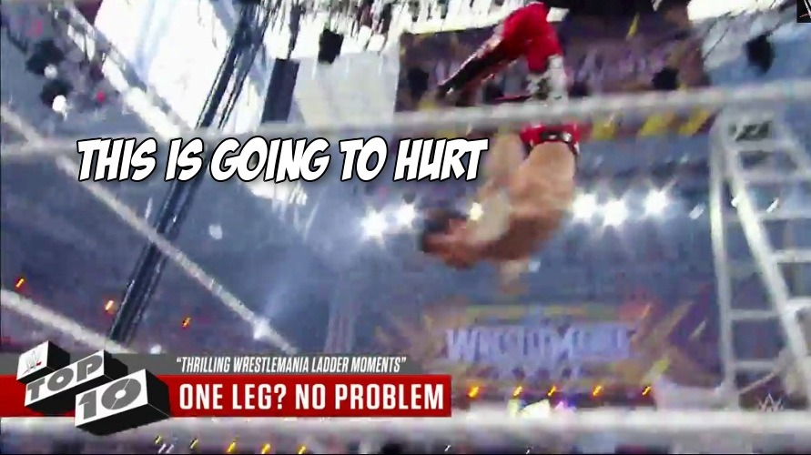 Climb with us. The top ten ladder match moments in WrestleMania history ranked