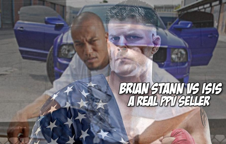 Brian Stann versus ISIS' Denis Cuspert is the fight to lose our heads over