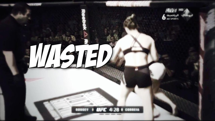 Videos: Ronda Rousey wastes Bethe Correia Grand Theft Auto style and finishes her Mortal Kombat style