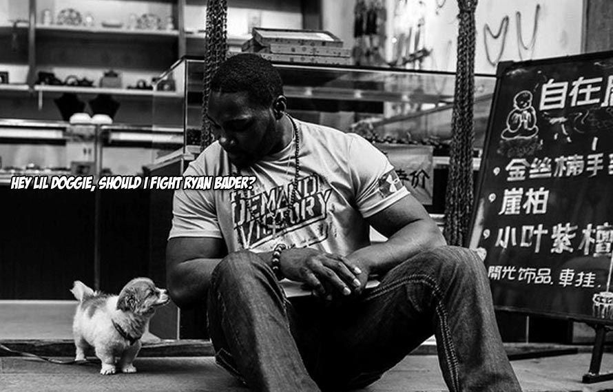 Rumble Johnson calls out Ryan Bader for a fight that will produce the true #1 contender