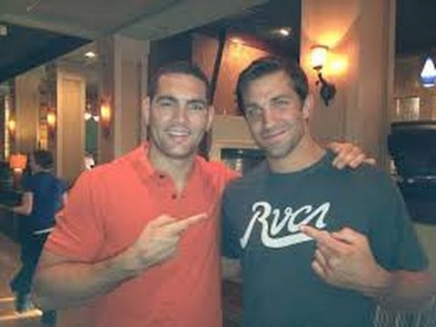 Luke Rockhold turns Chris Weidman's face to gore and becomes the new UFC champion