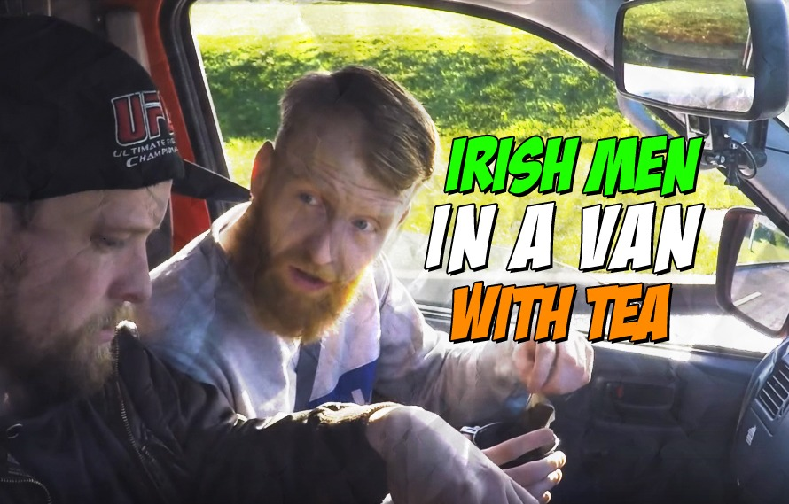 Video: Owen Colgan and Paddy Holohan Talking In A Van is Pure Entertainment