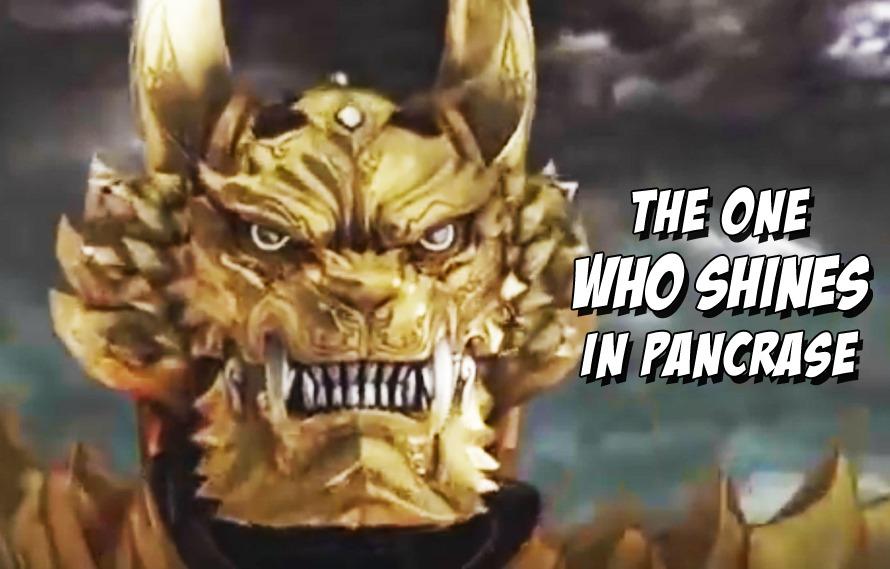 Garo The Demon Destroying Knight Blessed Pancrase Wtih His Presence