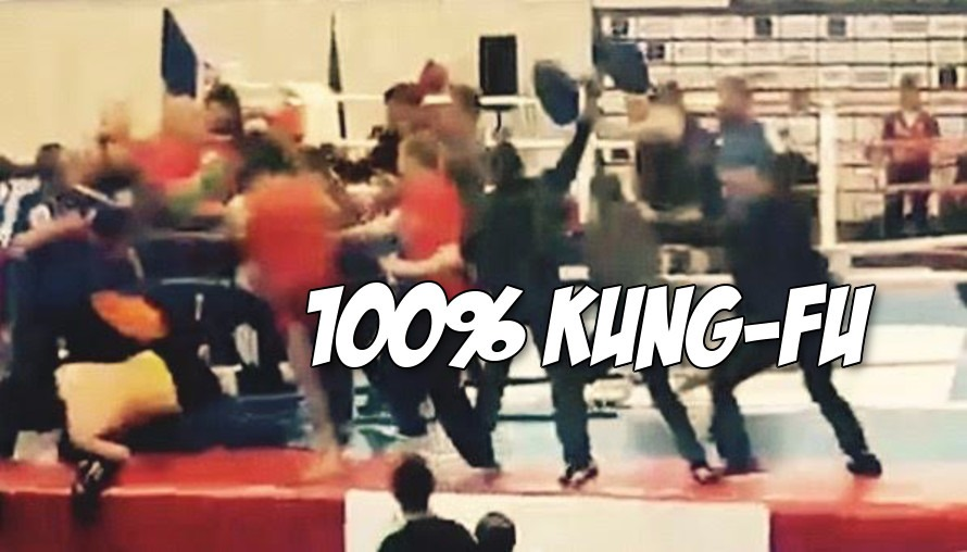 Video: Meanwhile in Armenian, a 40 person brawl broke out at a Kung-Fu tournament