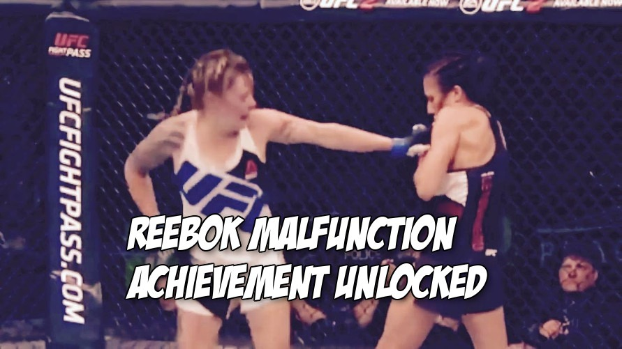 Video Another Ufc Wardrobe Malfunction Happened During Joanne