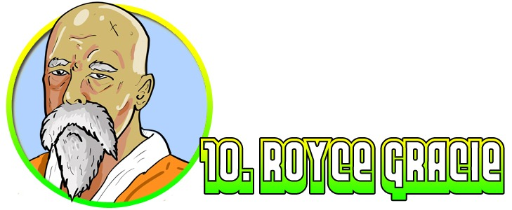 10RoyceAsRoshi-1 The Top Ten MMA Fighters That Secretly Occupy the Dragon Ball Z Universe