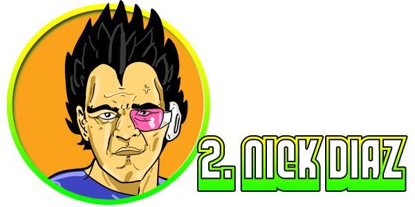 2DiazAsVegeta The Top Ten MMA Fighters That Secretly Occupy the Dragon Ball Z Universe