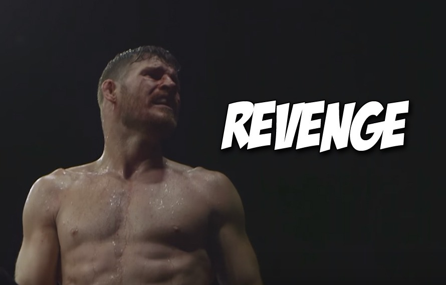 Video: A Busted Open Michael Bisping Wins Close Decision Over Dan Henderson