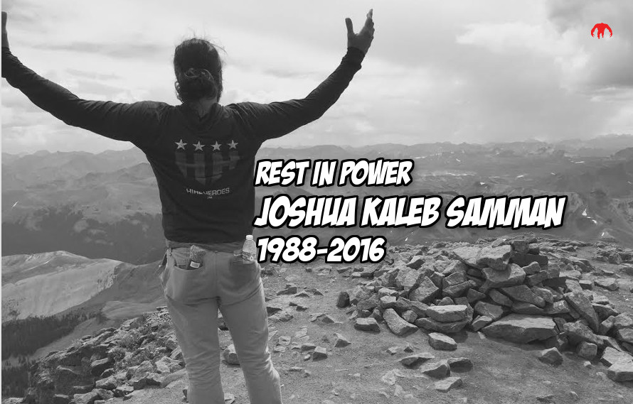Rest easy Josh Samman, the MMA community misses and mourns you