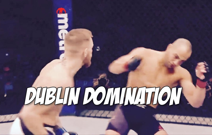 Watch: All the times Conor McGregor knocked down Eddie Alvarez and ate his brain cells in one video