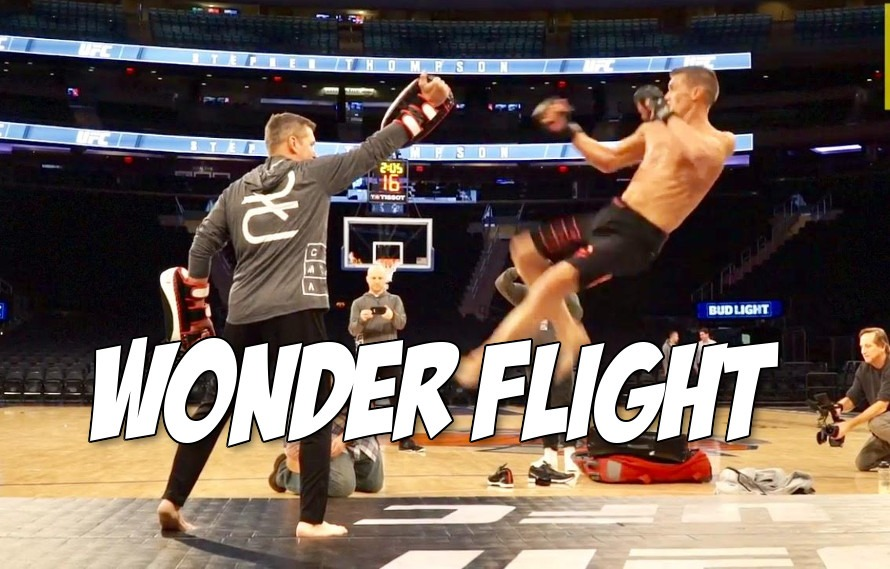 Watch: Stephen Thompson does a jumping tornado kick in slow-mo and we are mesmerized