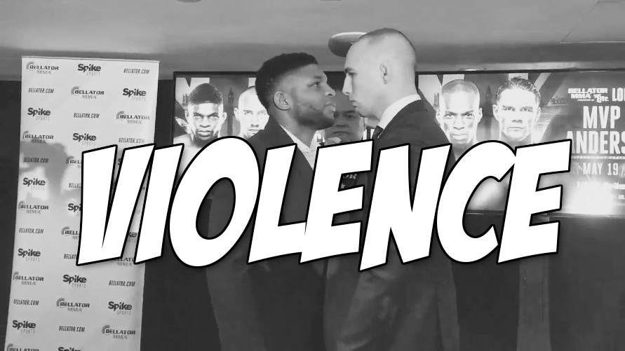 Watch: Paul Daley and Rory MacDonald just had their first psycho vs. murderer face off
