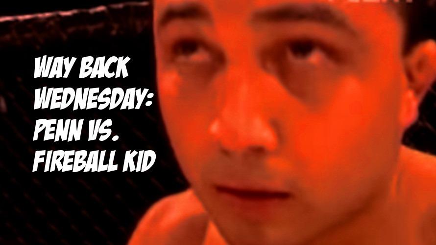 Way Back Wednesday: Prime B.J. Penn fights the Fireball Kid Takanomi Gomi