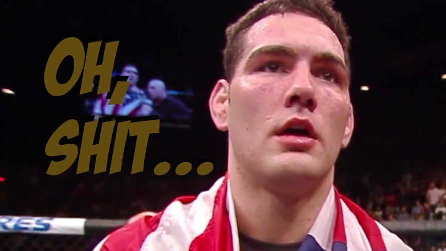 Video: All American Chris Weidman Once Shit Himself Terribly