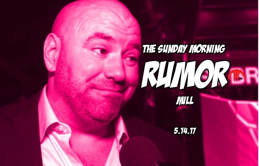 Buy UFC stock, Maia vs. Woodley and more in the post-UFC211 Sunday Morning Rumor Mill