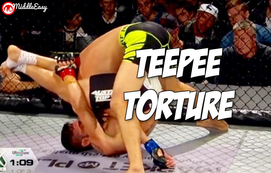 Video: Australian fighter Suman Mokhtarian pulls off MMA's first crazy teepee choke submission win