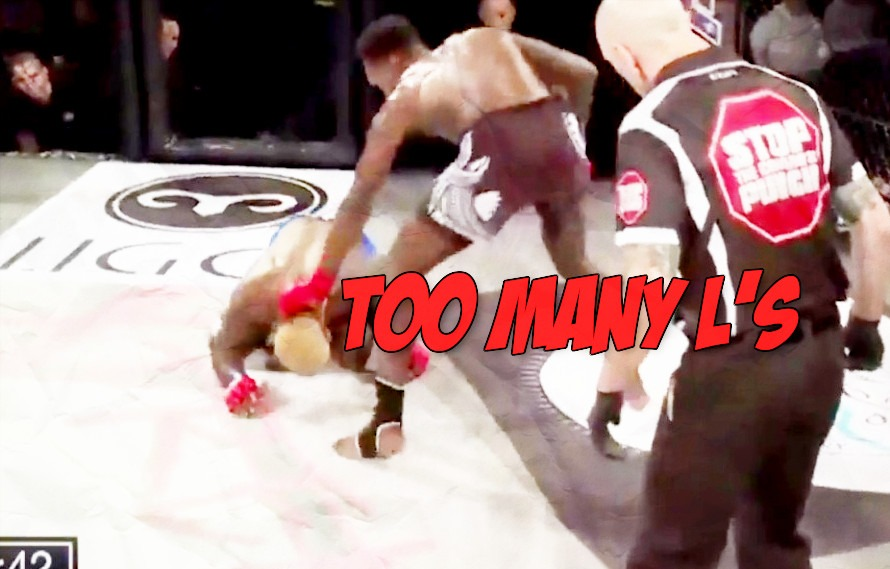 Replay: Melvin Guillard is brutally KO'd by middleweight Israel Adesanya, his 6th loss in a row