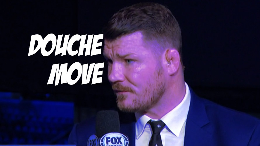 Michael Bisping Acts Like a Douchebag Before Whittaker/Romero Decision
