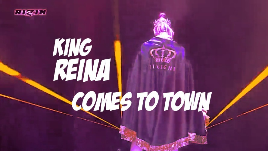 Pics: King Reina's RIZIN Entrance Is the Best Thing in Japanese MMA