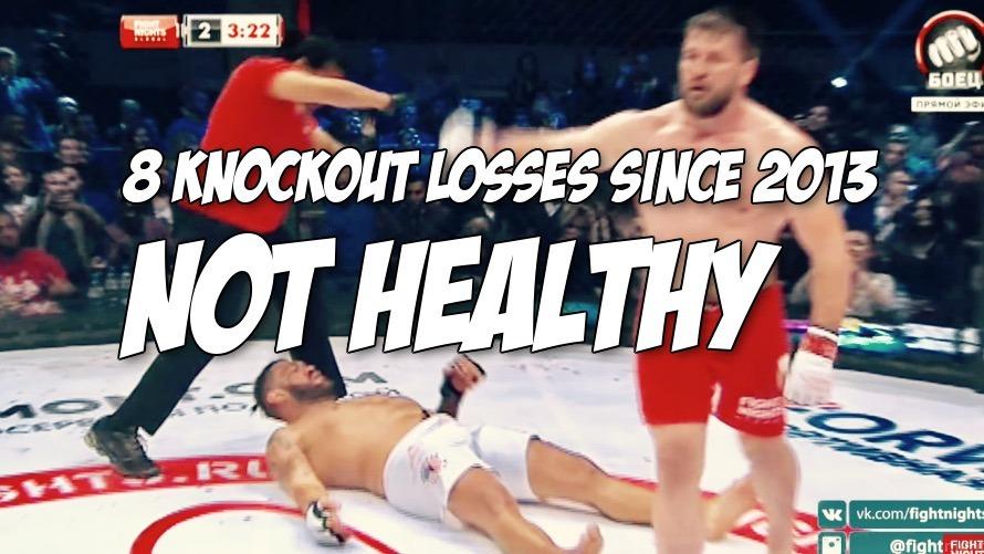 Before Glory champ Rico Verhoeven KO's him, here's video of Bigfoot Silva's last 8 KO defeats