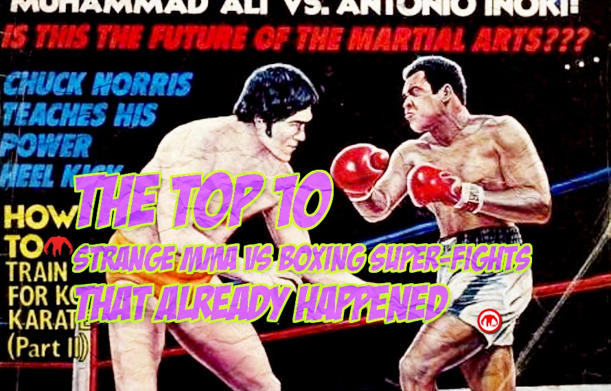 Mixing the arts: The top ten strange MMA vs. boxing super-fights that already happened