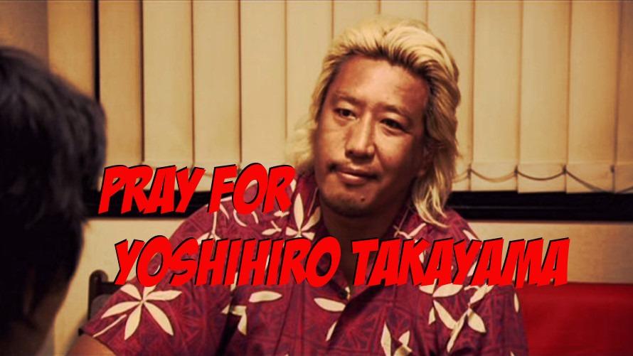 MMA & Pro Wrestling Legend Yoshihiro Takayama Paralyzed from Wrestling Accident