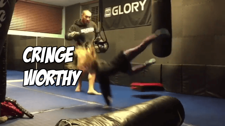 Glory kickboxing posts video of a heavyweight kicking an 8 year old girl off her feet, think it's funny?