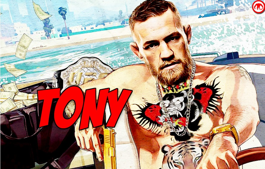 Pic: Conor McGregor finally calls out Tony Ferguson with the help of Grand Theft Auto