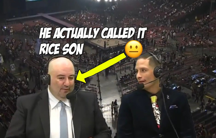 Video: All of Rizin announcer Chris Cordeiro's misinformed, sexist and plain dumb comments