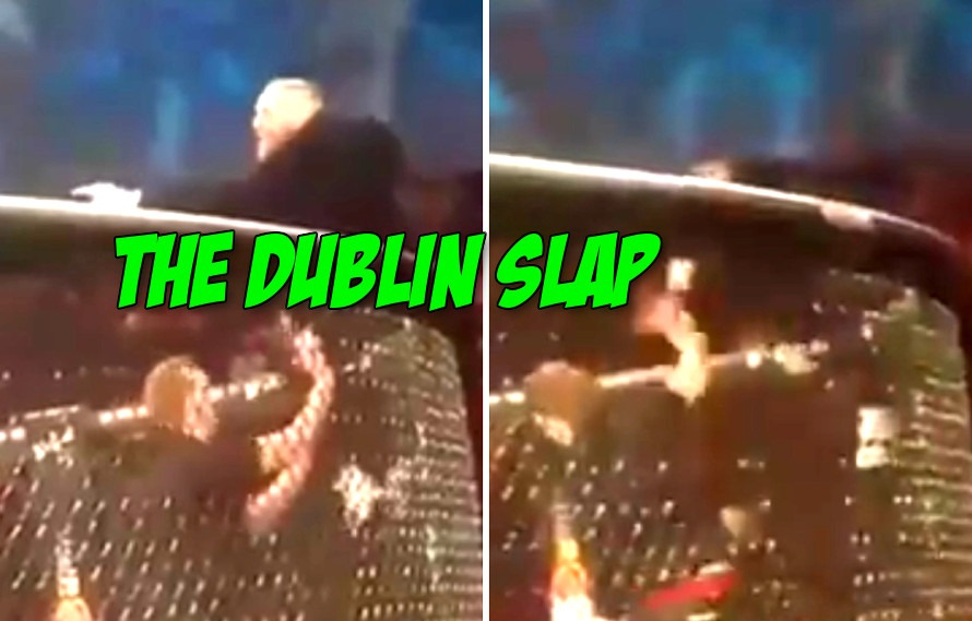 New video shows Conor McGregor Stockton Slapping an athletic commission member