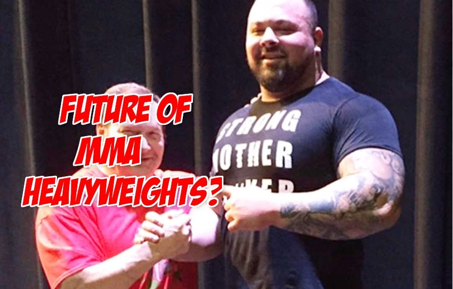 Report: Australia's strongest man Alex Simon says he's training for the UFC