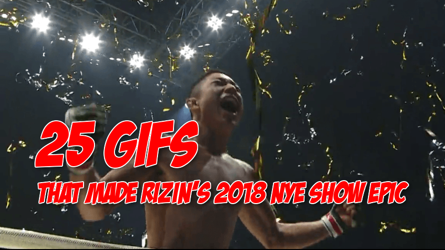 25 GIFs That Let You Know You Missed Out on RIZIN New Years Eve