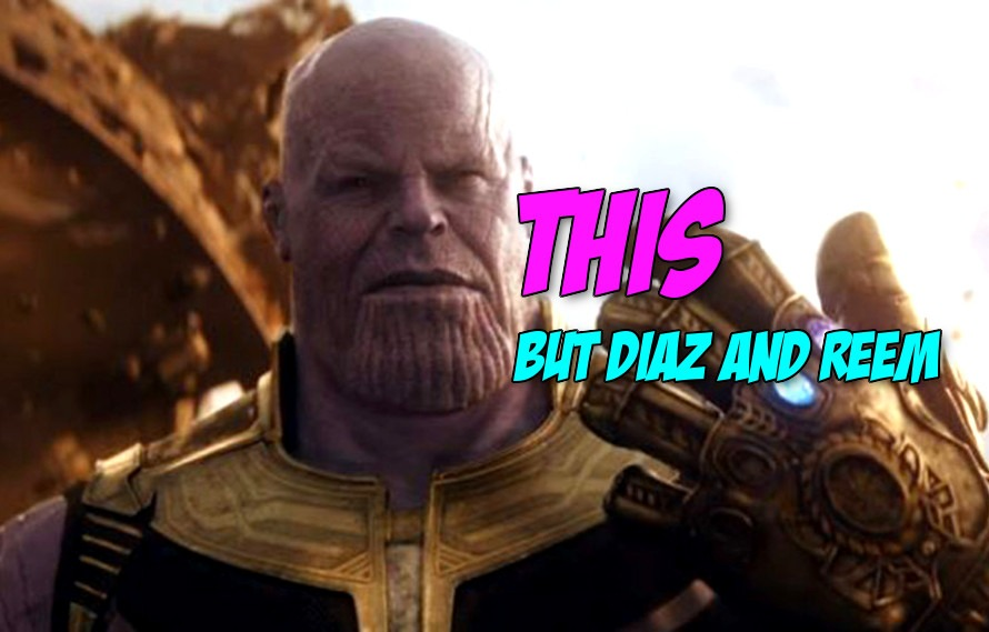 Pics; Nate Diaz and Alistair Overeem but as Thanos will get you hyped for Avengers: Infinity War