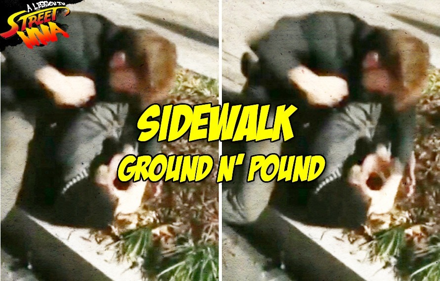 A Lesson in Street MMA: UFC's Ben Saunders records a fight outside a bar, we watch