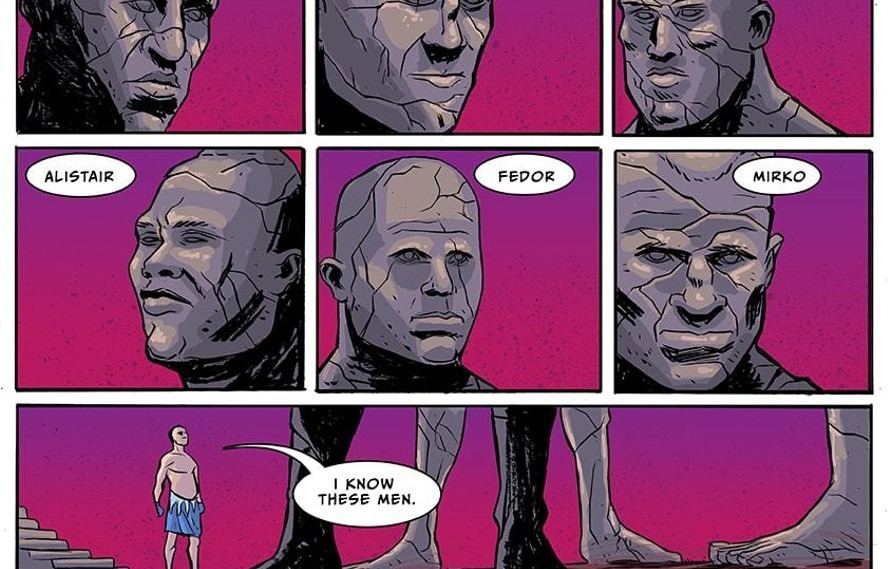 You need to read this rawesome new MMA comic book 'The Shadow Realm'