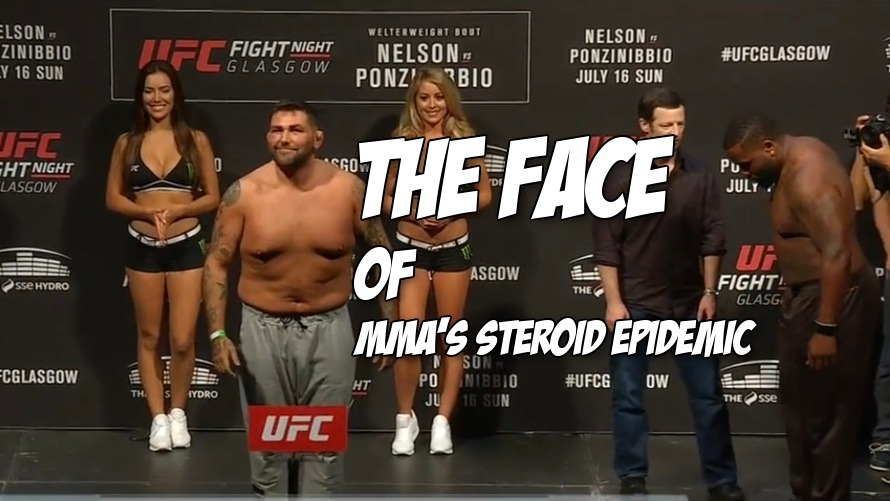 Pic: UFC heavyweight James Mulheron gets busted for PEDs and we think he needs better PEDs
