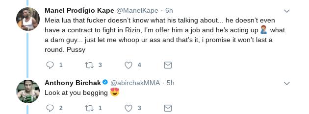 Screenshot-2018-01-11-at-10.00.16-PM RIZIN Twitter Beef: Anthony Birchak and Manel Kape Get Heated Over Kape's Jiu Jitsu & a Hotel Lobby Fight?