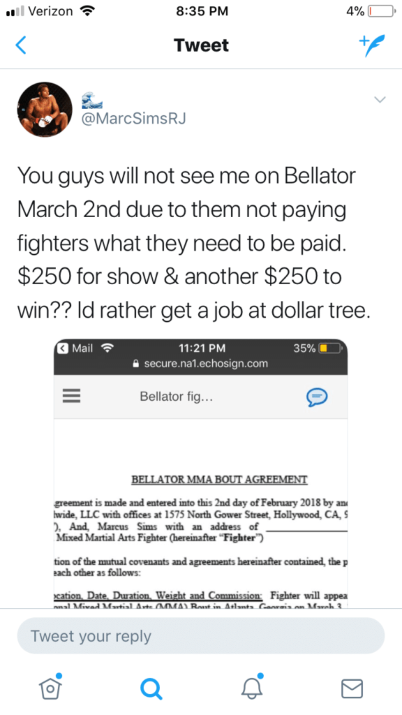 IMG_9408-576x1024 Pic: Jesus, fighter leaks Bellator contract that was set to pay him $250.00 to fight