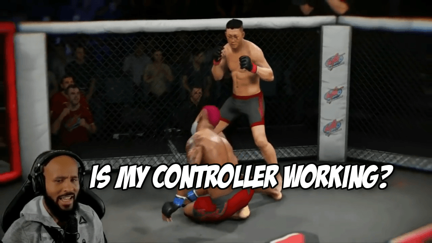 Let's watch Mighty Mouse get dominated in EA UFC 3 career mode