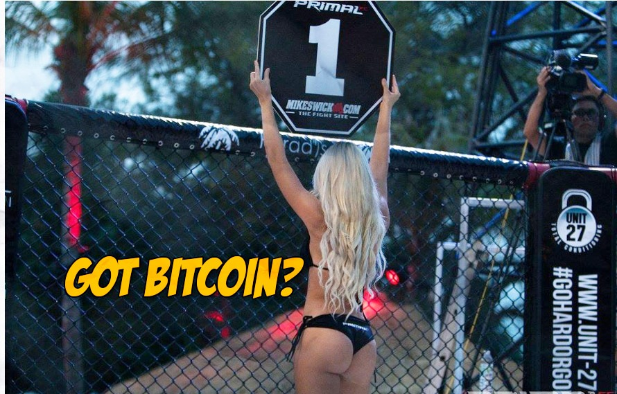 Report: New MMA promotion wants to pay their fighters in Bitcoin